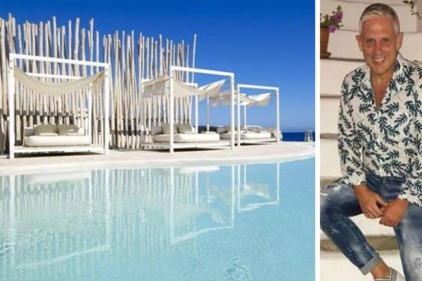 Τάσος Δούσης: Αυτό είναι το ονειρικό ξενοδοχείο στη Μήλο - Σε μαγευτική τοποθεσία με βαθμολογία 9,4!
