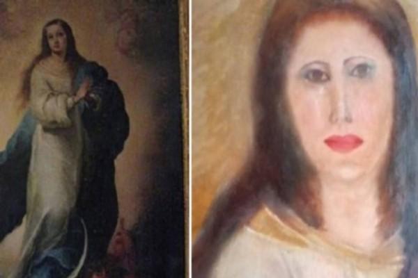 Ο Πικάσο δεν πιάνει μία : Συντηρητής έργων τέχνης έκανε αγνώριστη την Παναγία