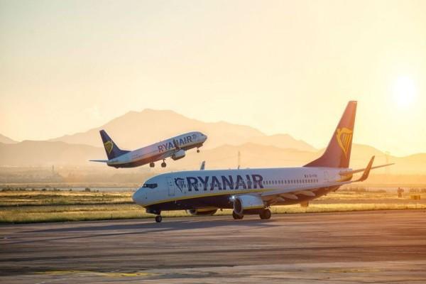 Ryanair: Τρομερή προσφορά για ταξίδια στο εξωτερικό με ούτε 20 ευρώ!