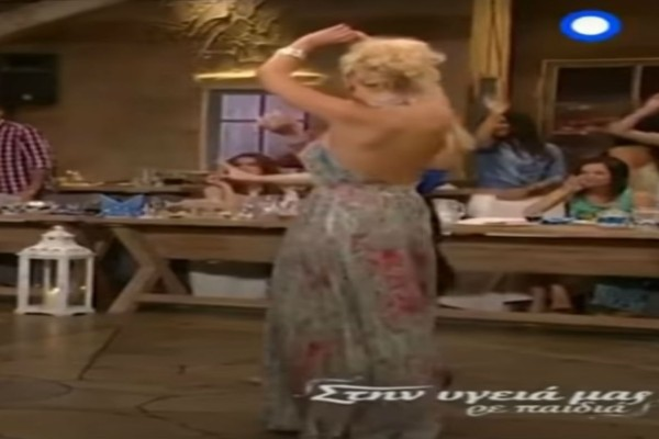 Πρώην παίκτρια του Survivor χορεύει τσιφτετέλι και τρελαίνει όλο τον αντρικό πληθυσμό