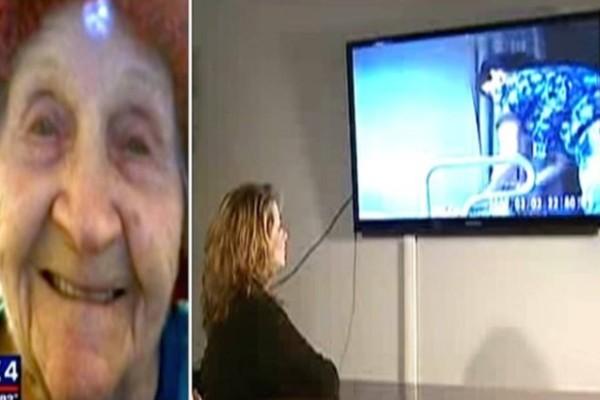 98χρονη γιαγιά έπεφτε διαρκώς από το αναπηρικό της καρότσι. Εγκατέστησε κάμερα και αποδείχτηκε πως ήταν αυτό που φοβόταν