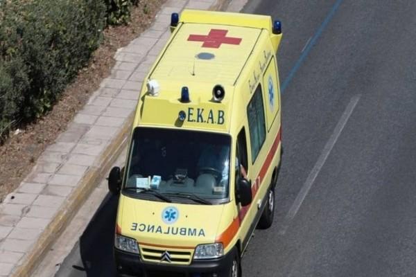 Τραγωδία στη Λαμία: Πέθανε μέσα στο ασθενοφόρο