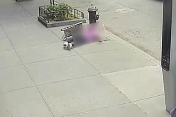 Άγρια επίθεση 31χρονου σε γυναίκα - Σοκάρρει το βίντεο από την κάμερα ασφαλείας (Video)
