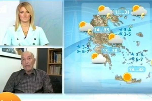 «Ακόμη καλοκαίρι δεν έχουμε δει... Το Σαββατοκύριακο περιμένουμε...» - Προειδοποίηση από τον Τάσο Αρνιακό (Video)