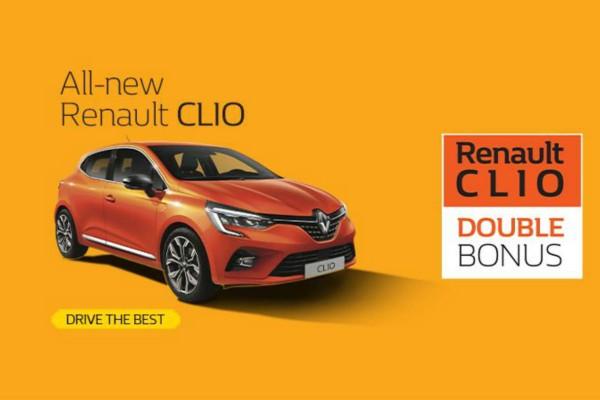 Tο Νέο Renault Clio με double bonus και όφελος έως 1.500€