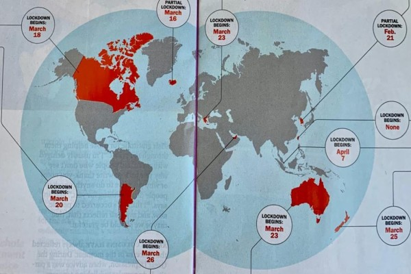 Κορωνοϊός: Αποθέωση στην Ελλάδα από το περιοδικό Time