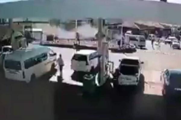 Φονική πορεία φορτηγού: «Θέρισε» 8 ανθρώπους (Video)