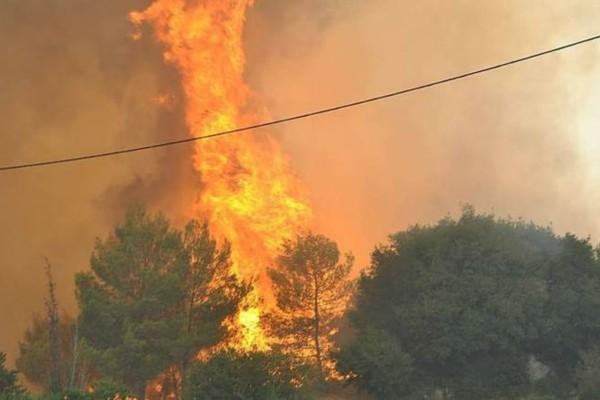 Πυρκαγιά ξέσπασε στη Νάξο