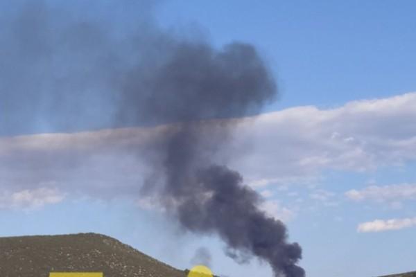 Συναγερμός στη Χαλκίδα: Φωτιά στη Χαραυγή
