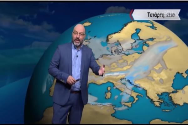 «Προσοχή έρχεται δεύτερο κύμα με βροχές και καταιγίδες...» - Ο Σάκης Αρναούτογλου προειδοποιεί για τον καιρό