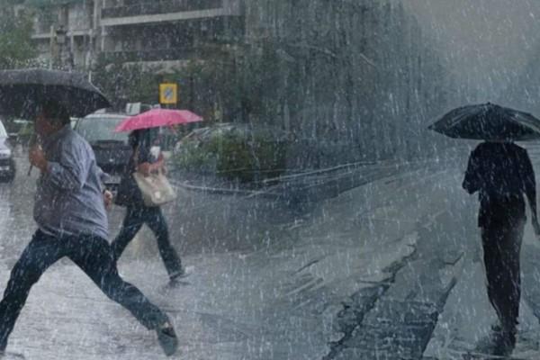 Έκτακτο δελτίο επιδείνωσης καιρού με καταιγίδες, βροχές και χαλάζι - Πού θα χτυπήσουν τα φαινόμενα