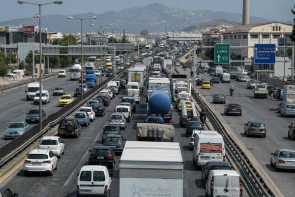 Κυκλοφοριακό κομφούζιο στον Κηφισό - Που αλλού παρατηρείται πρόβλημα (photo)