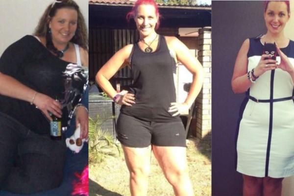 37χρονη μητέρα έχασε 70 κιλά αφαιρώντας μόνο 5 τροφές από την καθημερινότητα της