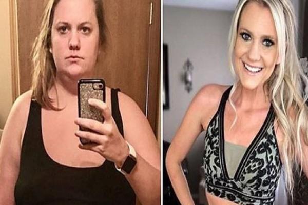 32χρονη κι έχασε 53 κιλά σε 11 μήνες κόβοντας αυτές τις τροφές