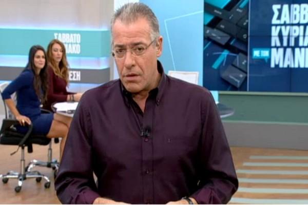 Πρόστιμο-«μαμούθ» στον Νίκο Μάνεση - Δύσκολες στιγμές για τον δημοσιογράφο