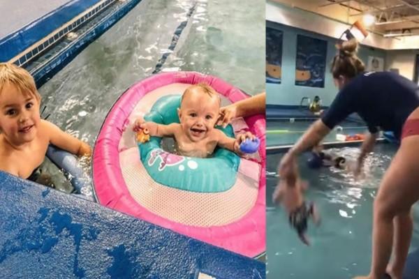 ΗΠΑ: Εκπαιδεύτρια πετά βρέφος σε πισίνα και το ανεβάζει στο TikTok