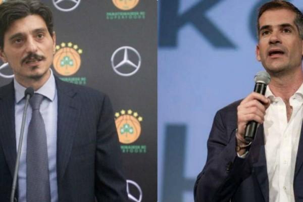 Απάντηση του Κώστα Μπακογιάννη στον Δημήτρη Γιαννακόπουλο: «Θα πάρει χαρά ο κόσμος του Παναθηναϊκού»