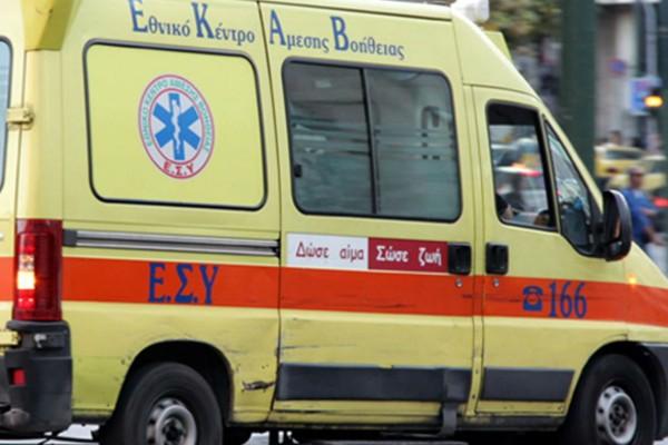 Τραγωδία στα Τρίκαλα: 65χρονος έπεσε από τον 3ο όροφο