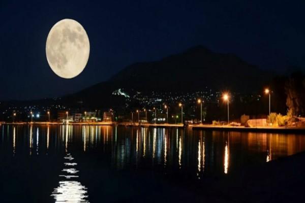 Πανσέληνος και έκλειψη Σελήνης - Απόψε ένα μοναδικό θέαμα στον έναστρο ουρανό