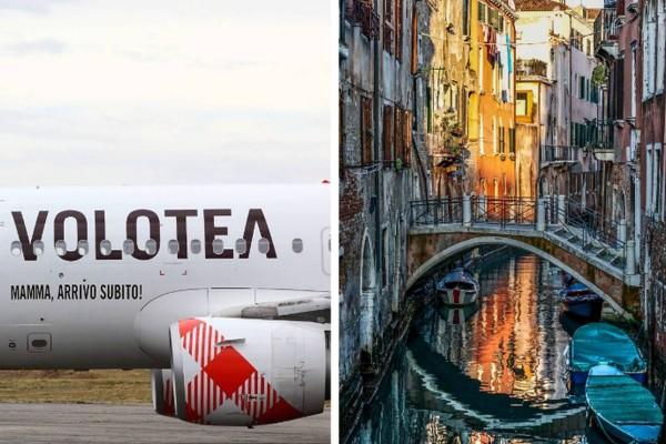 Απίστευτη προσφορά από την Volotea: Στην Βενετία Ιούλιο μήνα με ούτε 40 ευρώ