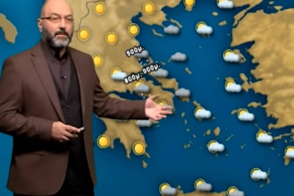 «Ο άστατος καιρός θα μείνει στην χώρα μέχρι...» - Προειδοποίηση από τον Σάκη Αρναούτογλου