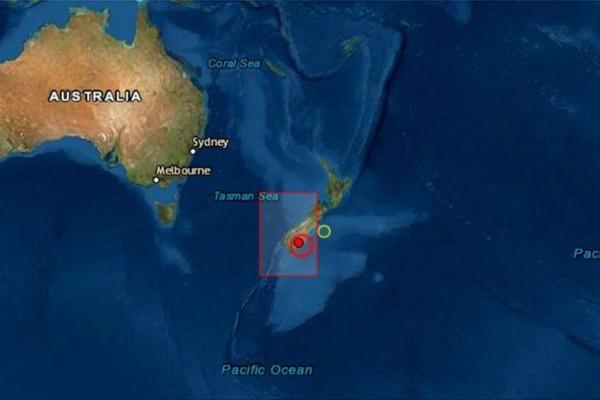 Σεισμός 5,8 Ρίχτερ στη Νέα Ζηλανδία