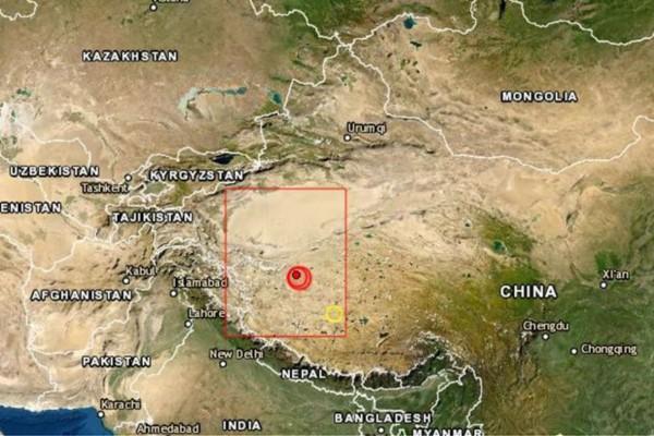 Ισχυρός σεισμός 6,4 Ρίχτερ στην Κίνα