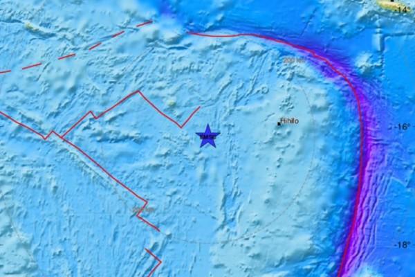 Σεισμός 5,6 Ρίχτερ βορειοανατολικά της Νέας Ζηλανδίας