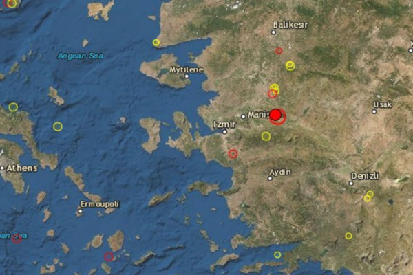 Σεισμός 5,6 Ρίχτερ στην Τουρκία - Αισθητός και σε ελληνικά νησιά