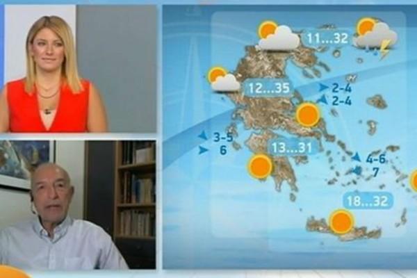 «Βροχές, καταιγίδες και χαλαζοπτώσεις - Νέα κακοκαιρία προ των πυλών» - Προειδοποίηση από τον Τάσο Αρνιακό (Video)