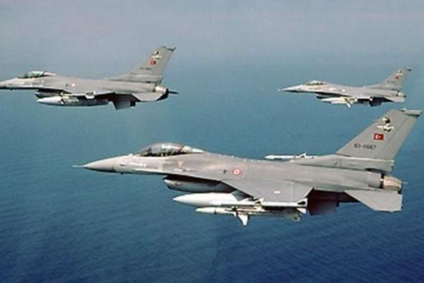Συναγερμός στο Αιγαίο: Νέες υπερπτήσεις τουρκικών F-16 πάνω από τις Οινούσσες και την Παναγιά