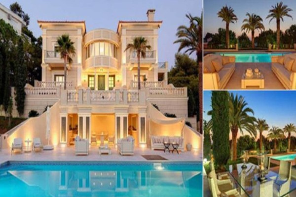 Υπάρχει μια έπαυλη που κοστίζει 17 εκατομμυρίων ευρώ και βρίσκεται λίγο έξω από την Αθήνα