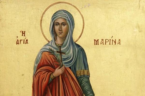 Της Αγίας Μαρίνας: Η μεγάλη γιορτή της Ορθοδοξίας που τιμάται σήμερα (17/07)