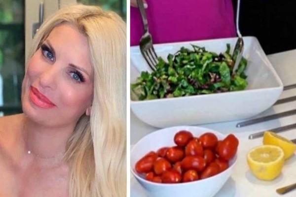 Αποτοξίνωση με λεμόνι για την Ελένη Μενεγάκη: Η διατροφή που την κρατά στα 59 κιλά