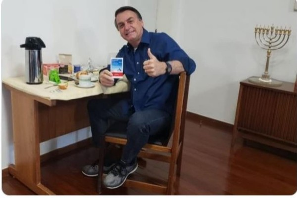 Βραζιλία: Αρνητικό το νέο τεστ για κορωνοϊό του Ζαΐχ Μπολσονάρου
