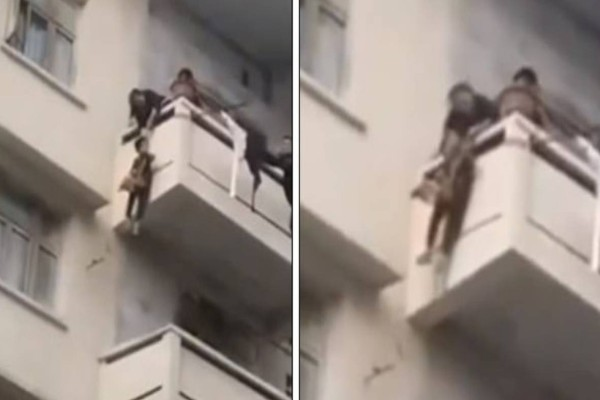 Γιαγιά κρέμασε από το μπαλκόνι τον 7χρονο εγγονό της για να σώσει τη γάτα της
