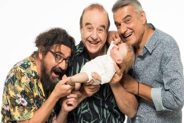 «Ένα μωρό για τρεις» στο Κατράκειο Θέατρο Νίκαιας