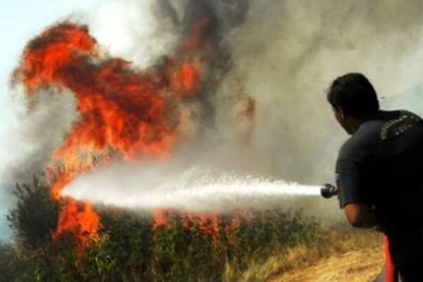Πυρκαγιά στην Ηλεία