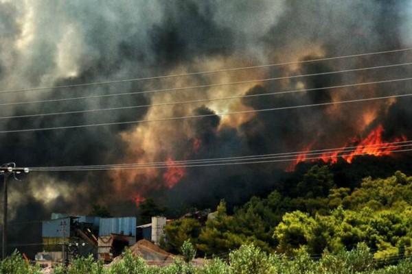 Φωτιά στην Κορινθία: Εκτός ελέγχου η κατάσταση - Εκκενώθηκε και πέμπτος οικισμός
