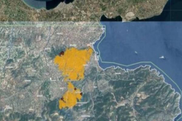 Πυρκαγιά στις Κεχριές Κορινθίας: Πάνω από 32.000 στρέμματα η καμμένη γη
