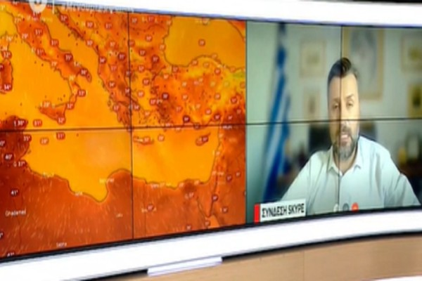 «Η θερμή εισβολή θα κρατήσει μέχρι...» - Προειδοποίηση από τον Γιάννη Καλλιάνο (Video)