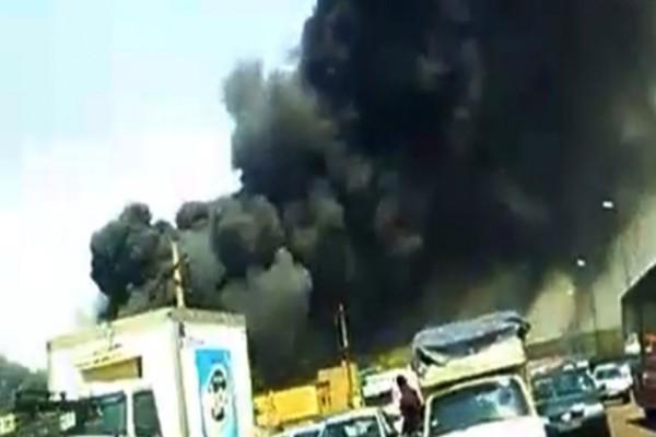 Ιράν: Πυρκαγιά σε εργοστάσιο σελοφάν