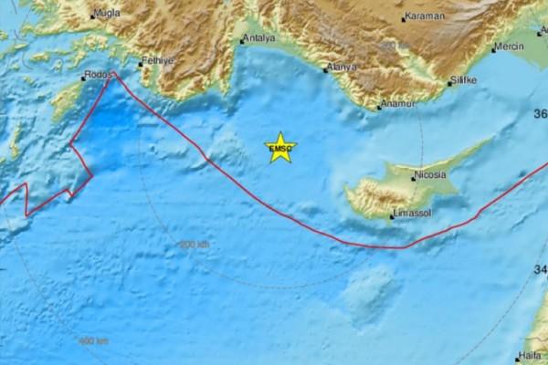Σεισμός 4,3 Ρίχτερ στην Κύπρο