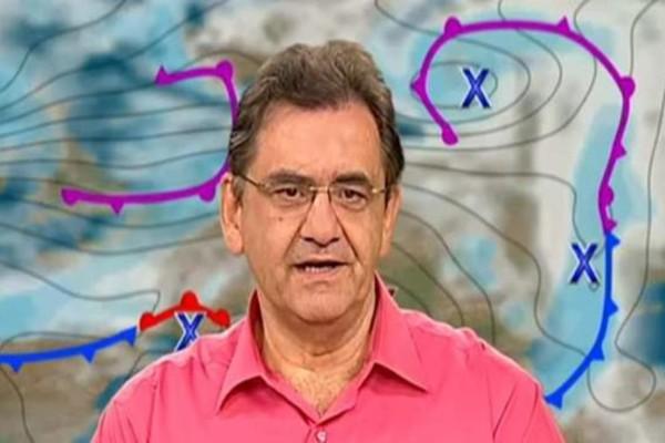 «Πέφτουν οι άνεμοι το Σαββατοκύριακο με τη θερμοκρασία στους...» - Πρόγνωση του καιρού από τον Θοδωρή Κολυδά