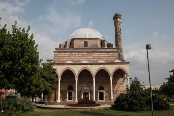 Τρίκαλα: Βανδάλισαν το Κουρσούμ Τζαμί - Αντίδραση για την μετατροπή της Αγίας Σοφιάς
