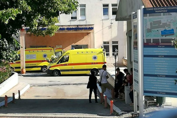 Επιθεση 45χρονου με τσεκούρι στην εφορία Κοζάνης: Κρίσιμη η κατάσταση των δύο τραυματιών