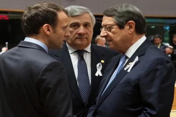 «Καταπέλτης» εναντίον Τουρκίας ο Εμανουέλ Μακρόν - «Δε θα της αφήσουμε την ανατολική Μεσόγειο»