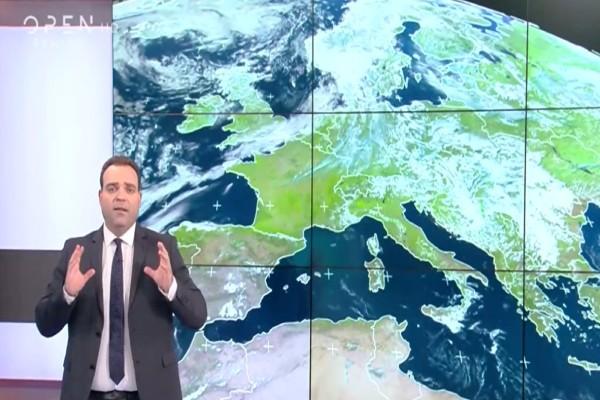 «Πορτοκαλί συναγερμός αυτή την εβδομάδα για 4 περιοχές» - Ο Κλέαρχος Μαρουσάκης προειδοποιεί