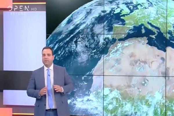 «Σε αυτές τις περιοχές θα νιώσετε έντονα τη ζέστη» - Πρόγνωση του καιρού από τον Κλέαρχο Μαρουσάκη