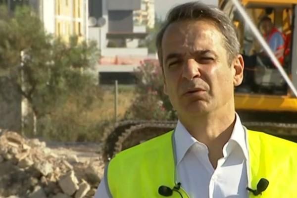 Ο Κυριάκος Μητσοτάκης στην τελετή στο Ελληνικό: «Το έργο θα συμβολίζει τη νέα Ελλάδα που οραματιζόμαστε» (Video)